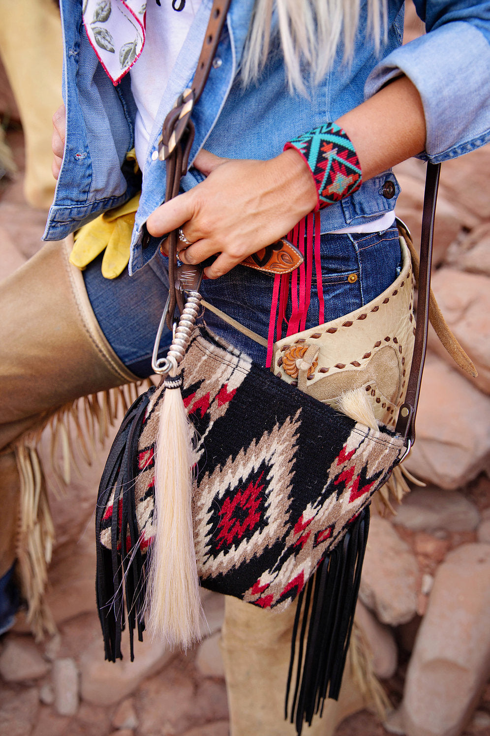 Mini Palo Duro Saddleblanket Crossbody