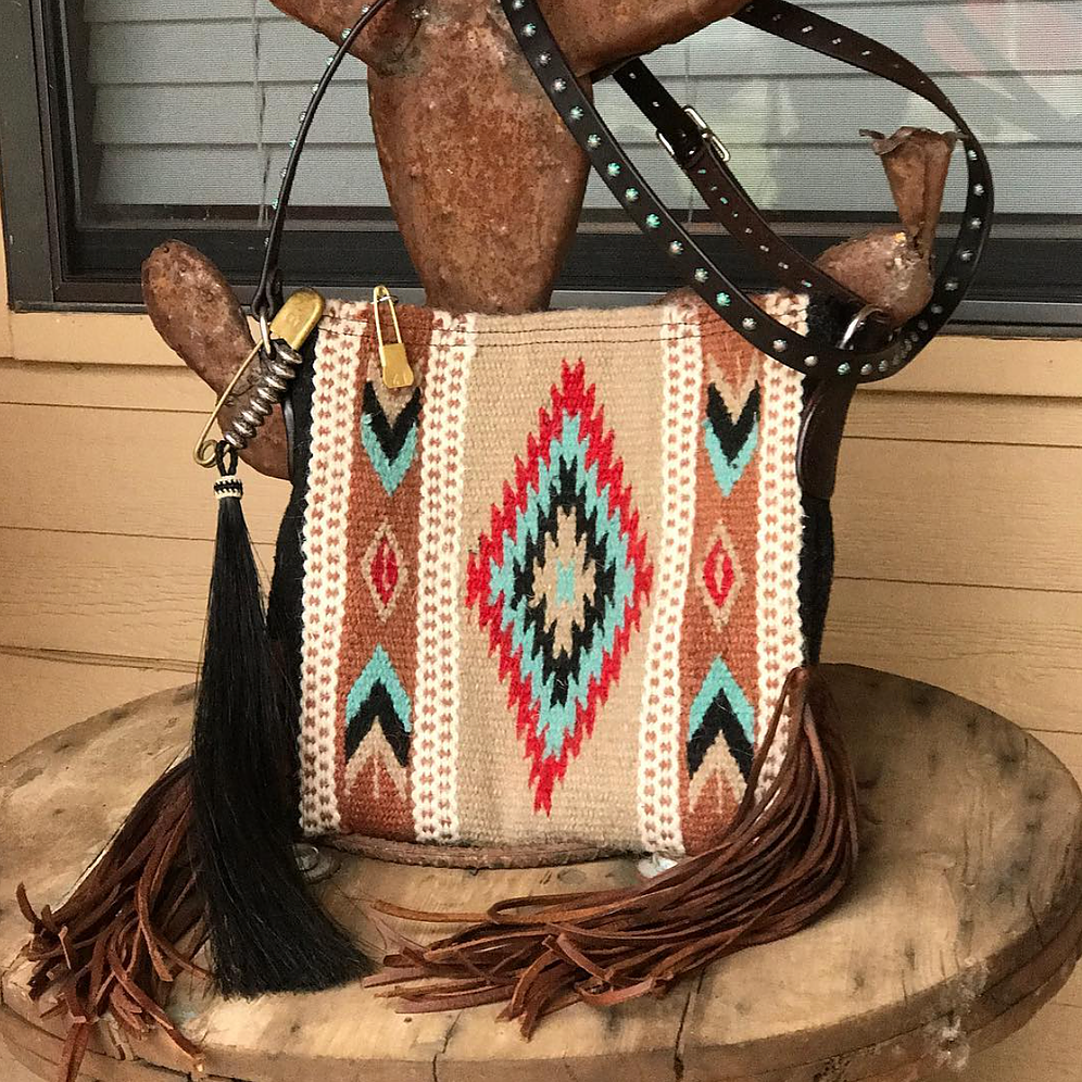 Mini Zia Saddleblanket Crossbody