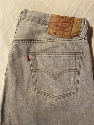 As New Condition Levi's Original 501 Regular Fit Jeans W36 L30 (L8) - Discounted Deals UK