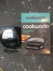 Cookworks Sandwich Toaster - Discounted Deals UK