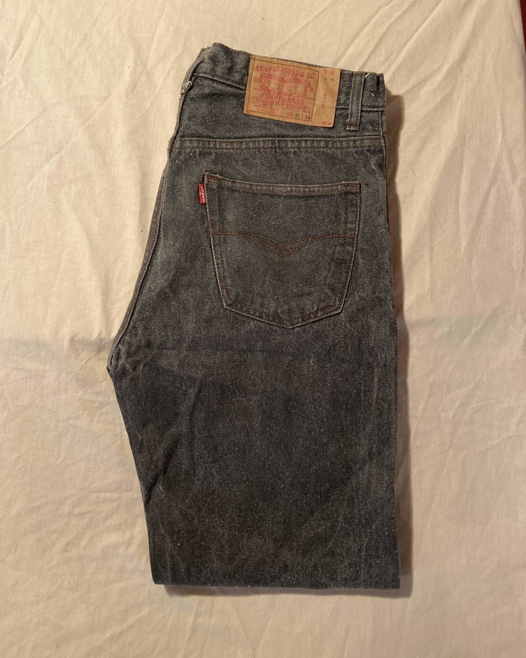 Grade A Levi's Original 501 Regular Fit Jeans W32 L34 (DF5) - Discounted Deals UK