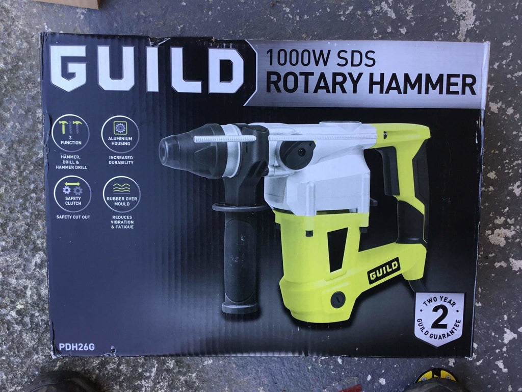 Guild 1000w SDS Power Hammer Drill - Discounted Deals UK