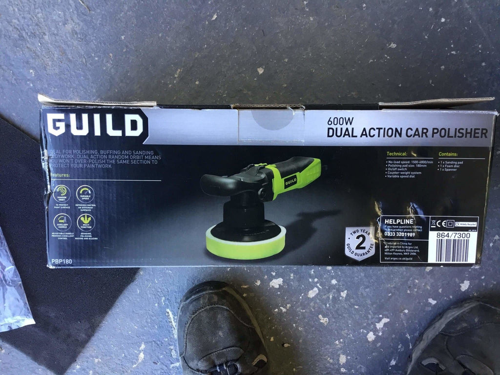 Guild Dual Action Polisher With Original Box - Discounted Deals UK