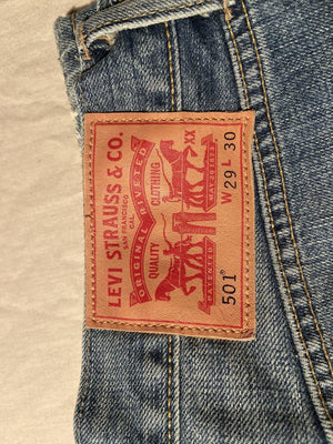 Immaculate As New Without Tags Levi's Original 501 Regular Fit Jeans W29 L30 (DE7) - Discounted Deals UK