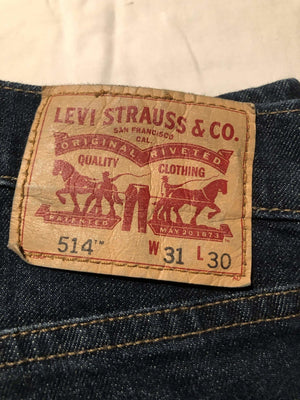 Levi's 514 Jeans W31 L30 (LV13) - Discounted Deals UK