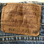 Levi's 514 Jeans W33 L30 (L8) - Discounted Deals UK
