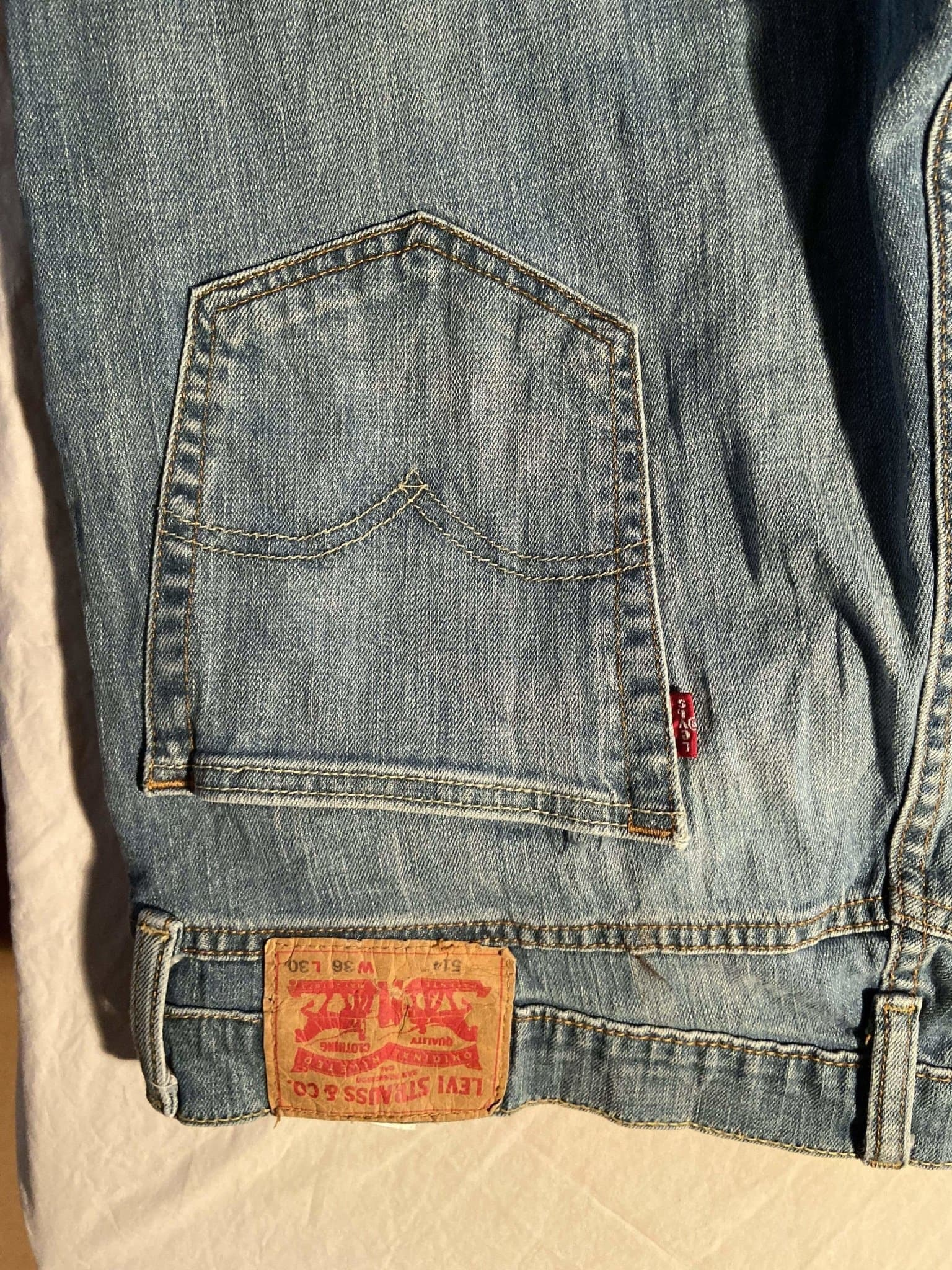 Levi's 514 Jeans W36 L30 (T3) - Discounted Deals UK