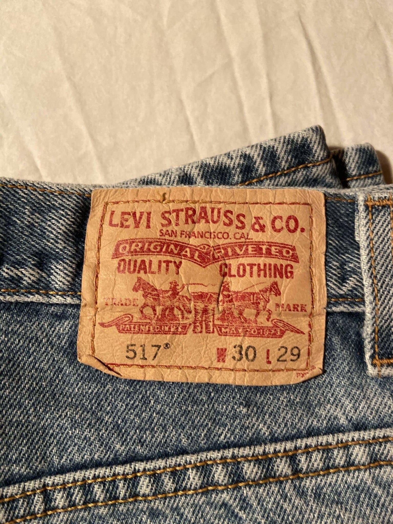 Levi's 517 Jeans W30 L29 (E6) - Discounted Deals UK