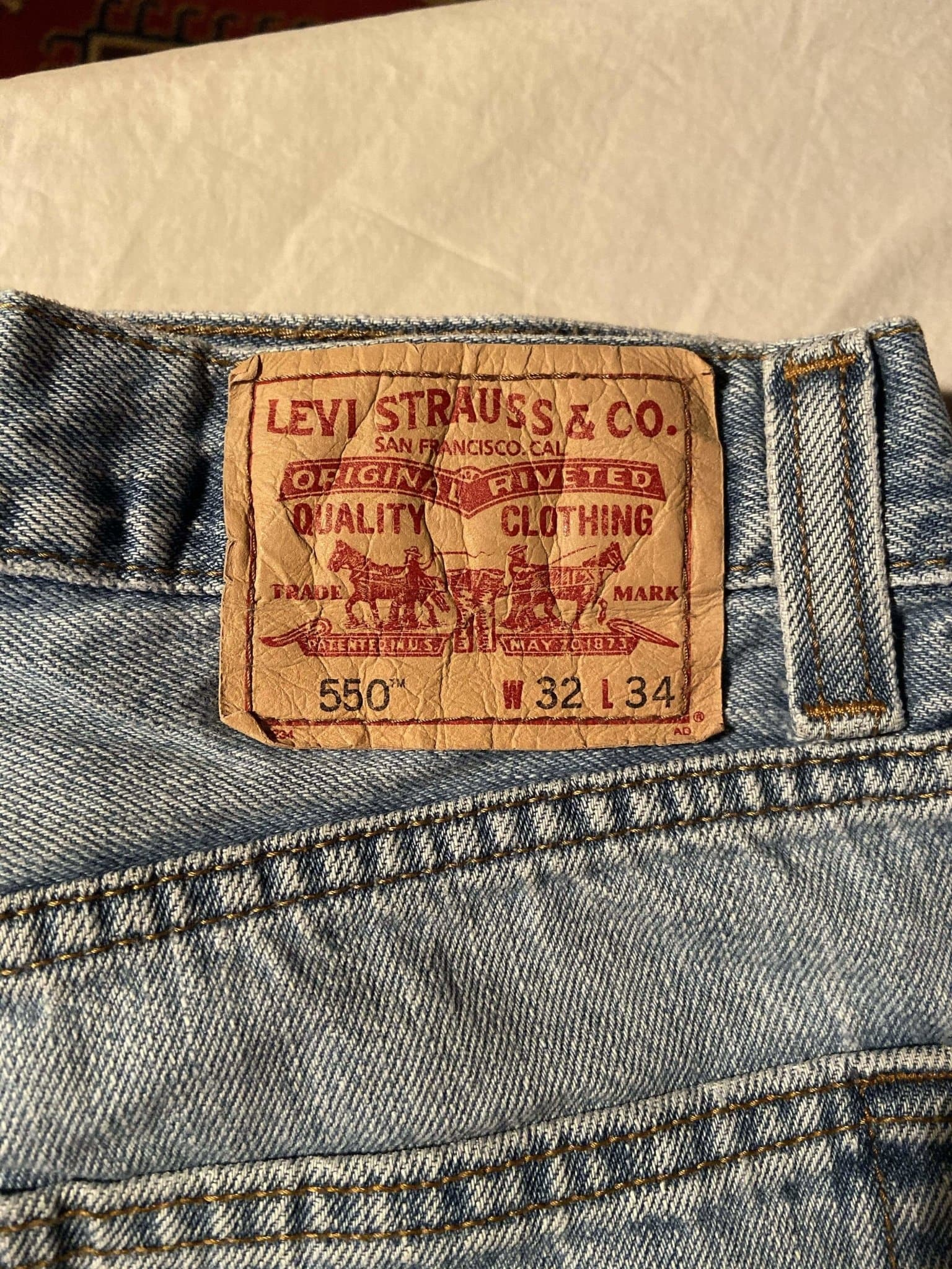 Levi's 550 Jeans W32 L34 (T3) - Discounted Deals UK