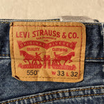 Levi's 550 Jeans W33 L32 (T3) - Discounted Deals UK