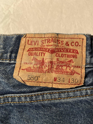 Levi's 550 Jeans W34 L30 (T3) - Discounted Deals UK