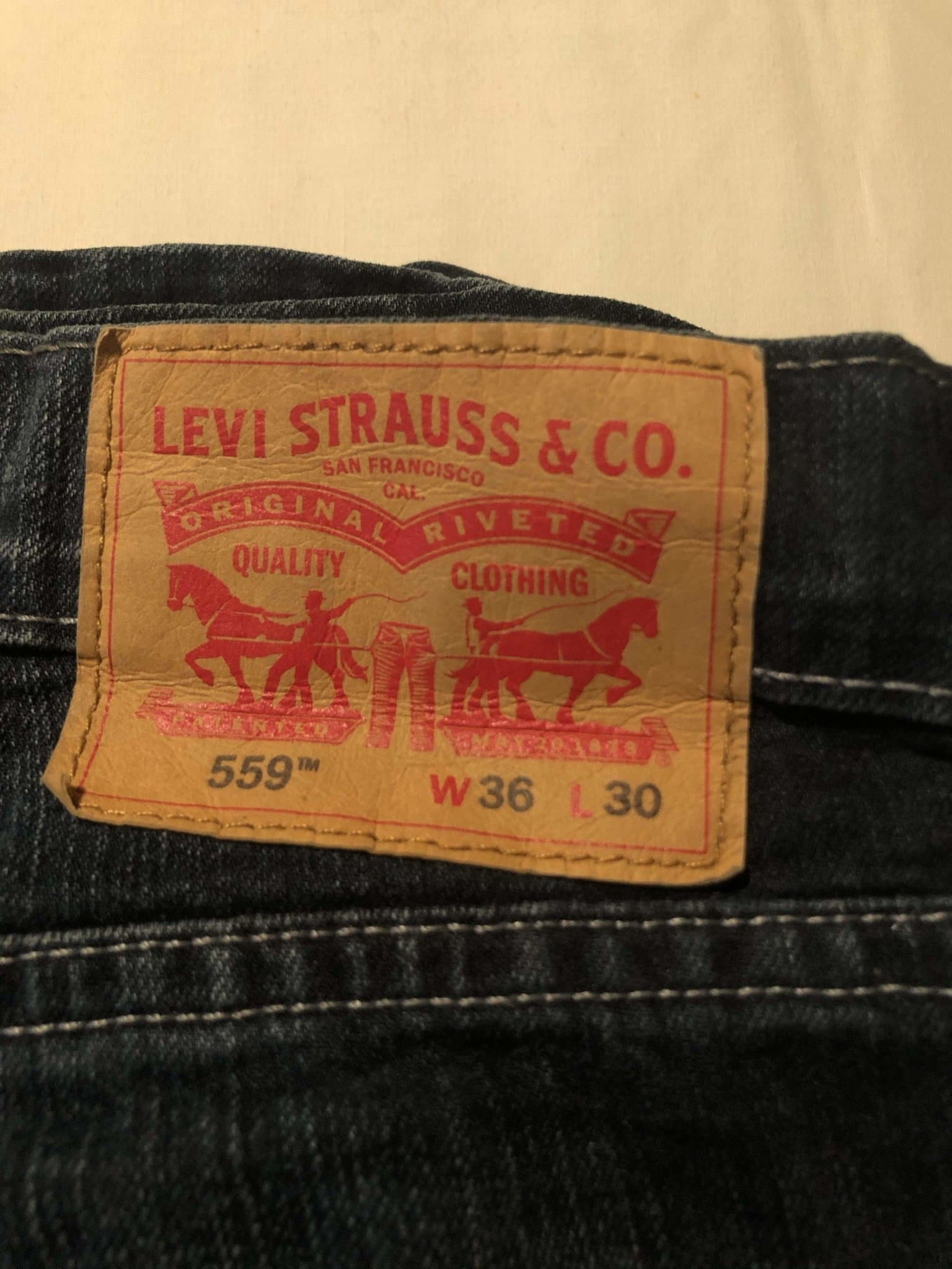 Levi's 559 Jeans W36 L30 (P16) - Discounted Deals UK