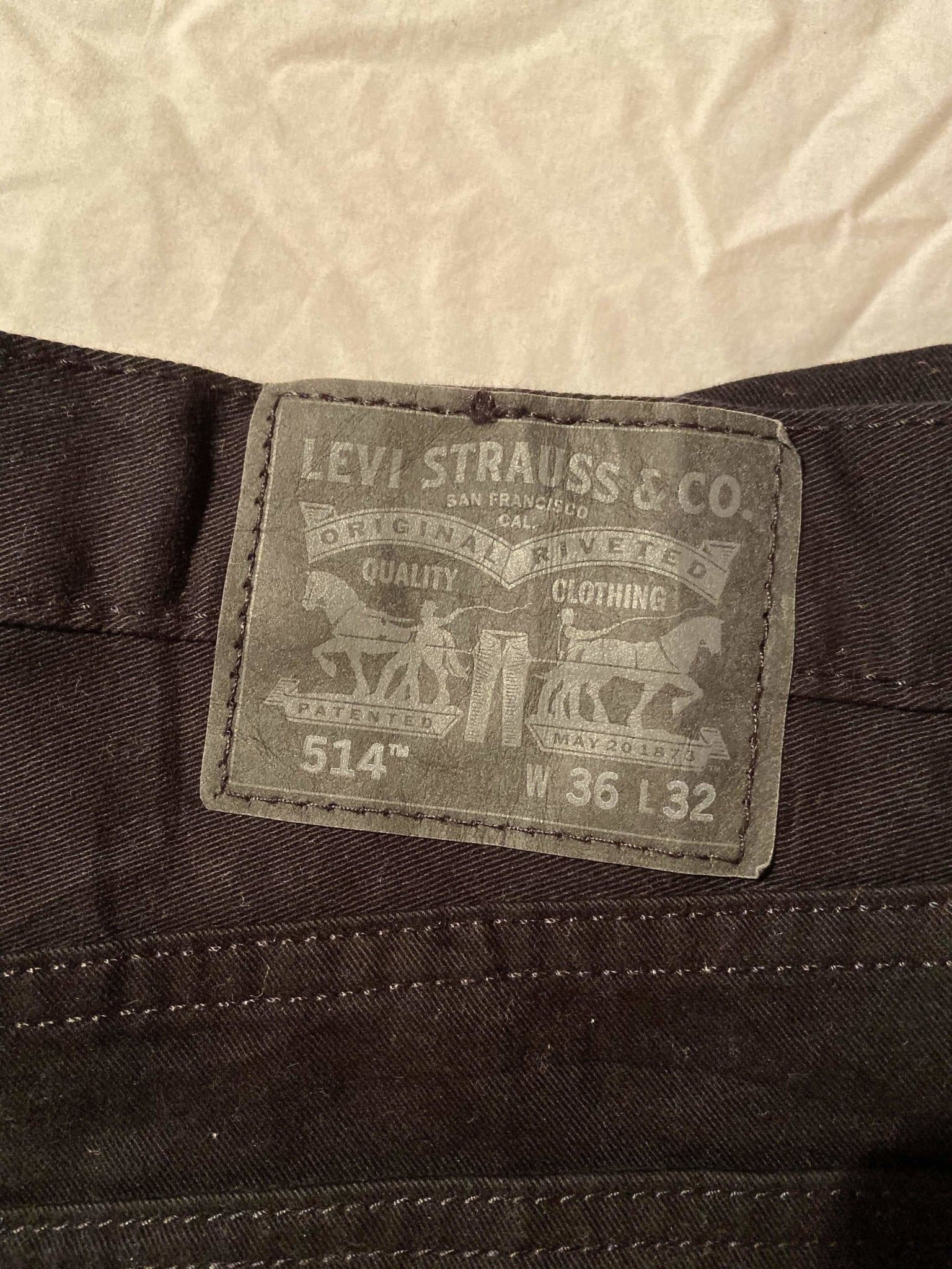 Levi's Original 514 Jeans W36 L32 (TE1) - Discounted Deals UK