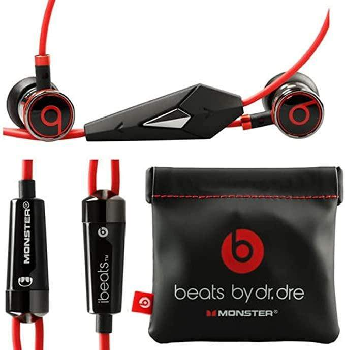 Monster iBeats Headphones with ControlTalk (Black) - Discounted Deals UK