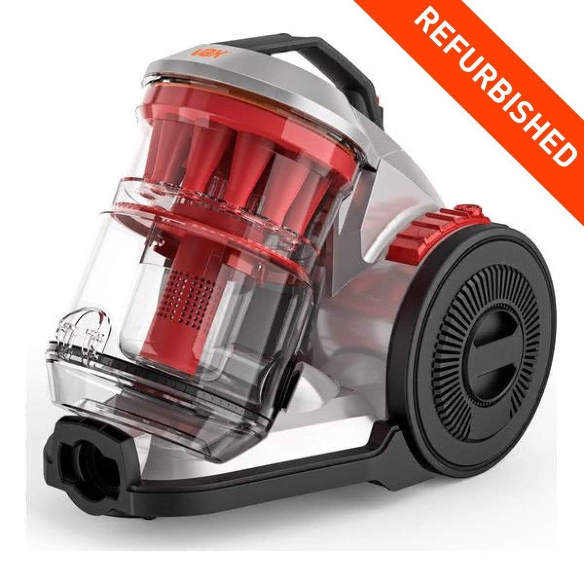 Refurbished Vax Air Stretch Multi Cyclonic Vacuum Cleaner - Red - Discounted Deals UK