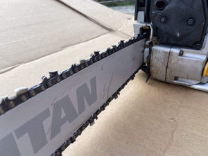 "Titan 50cc 20"" Bar Petrol Chainsaw - Ready To Run - Refurbished Condition - Discounted Deals UK"