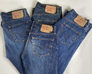 Vintage Frayed Bottom Levi's Classic 501 Jeans W36 L36 (M15)) - Discounted Deals UK