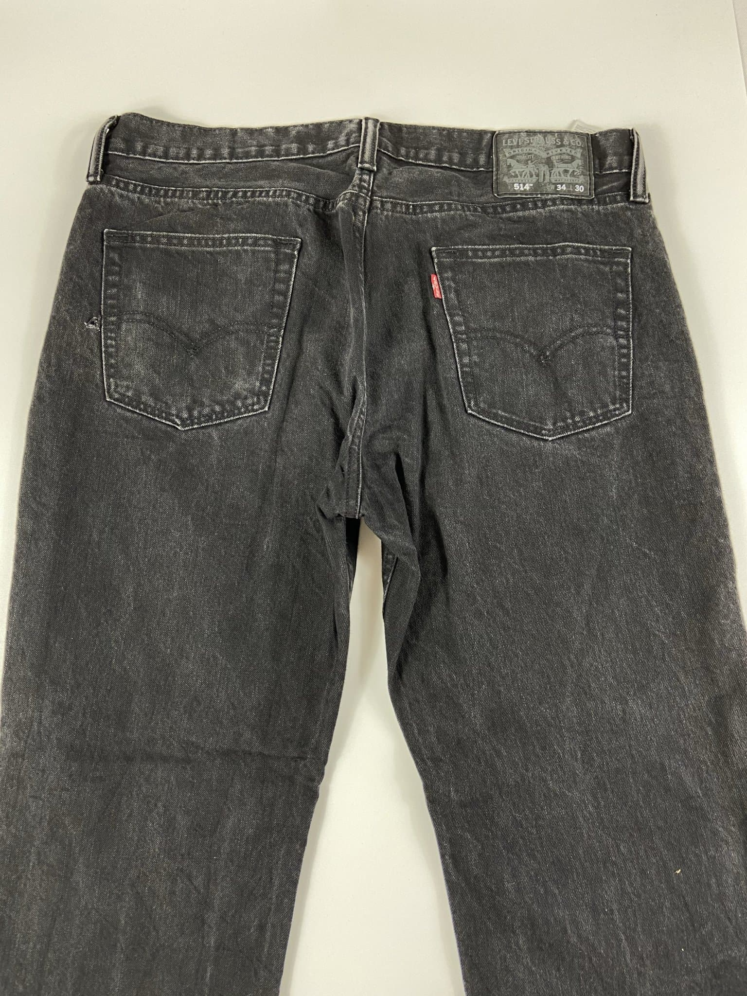 Vintage Levi's 514 Classic Zip Fly Jeans W34 L30 (I11) - Discounted Deals UK
