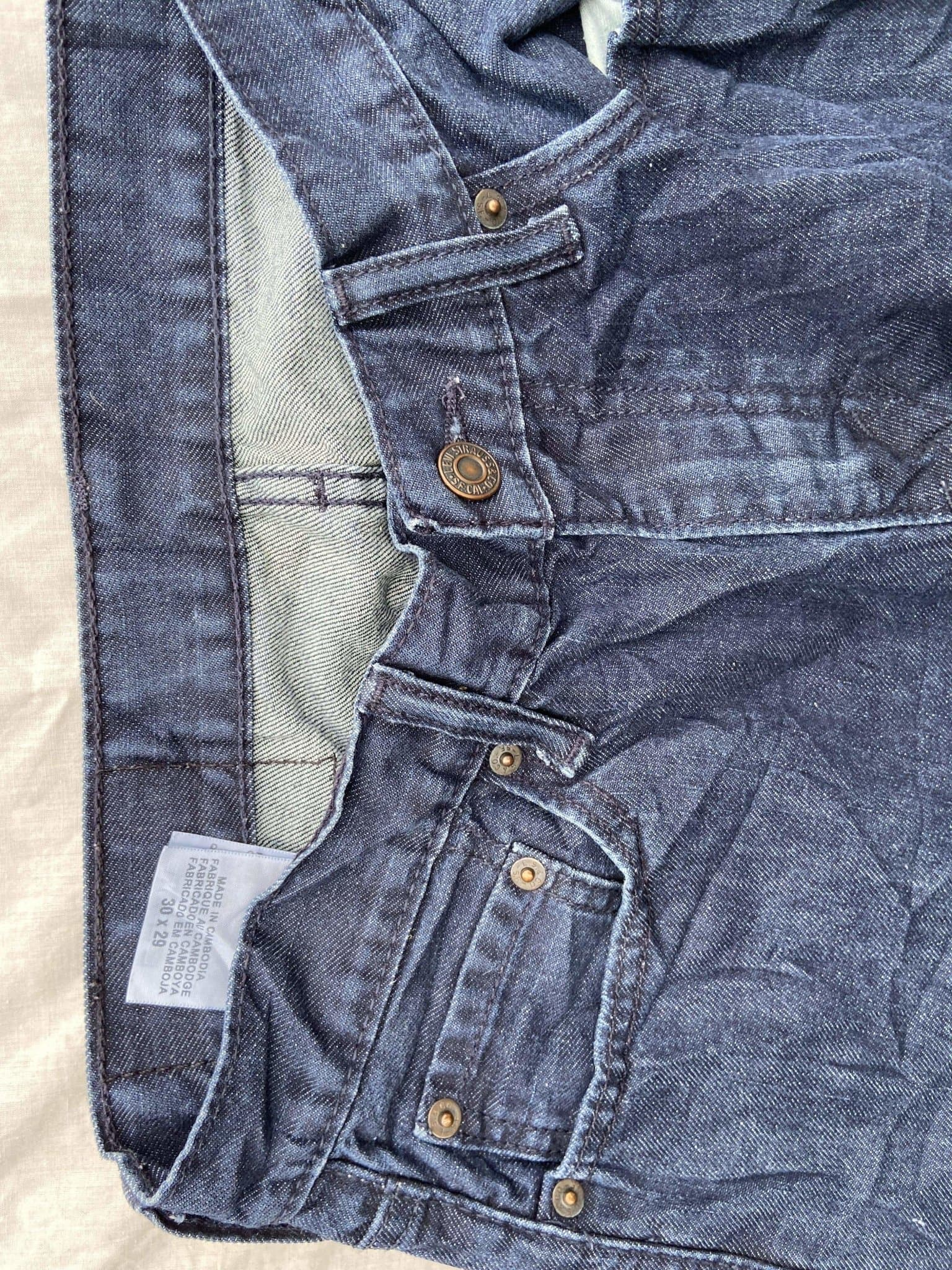 Vintage Levi's 514 Jeans W30 L29 - Discounted Deals UK
