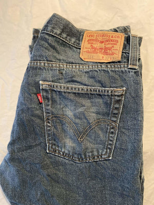 Vintage Levi's 514 Jeans W32 L34 (L8) - Discounted Deals UK