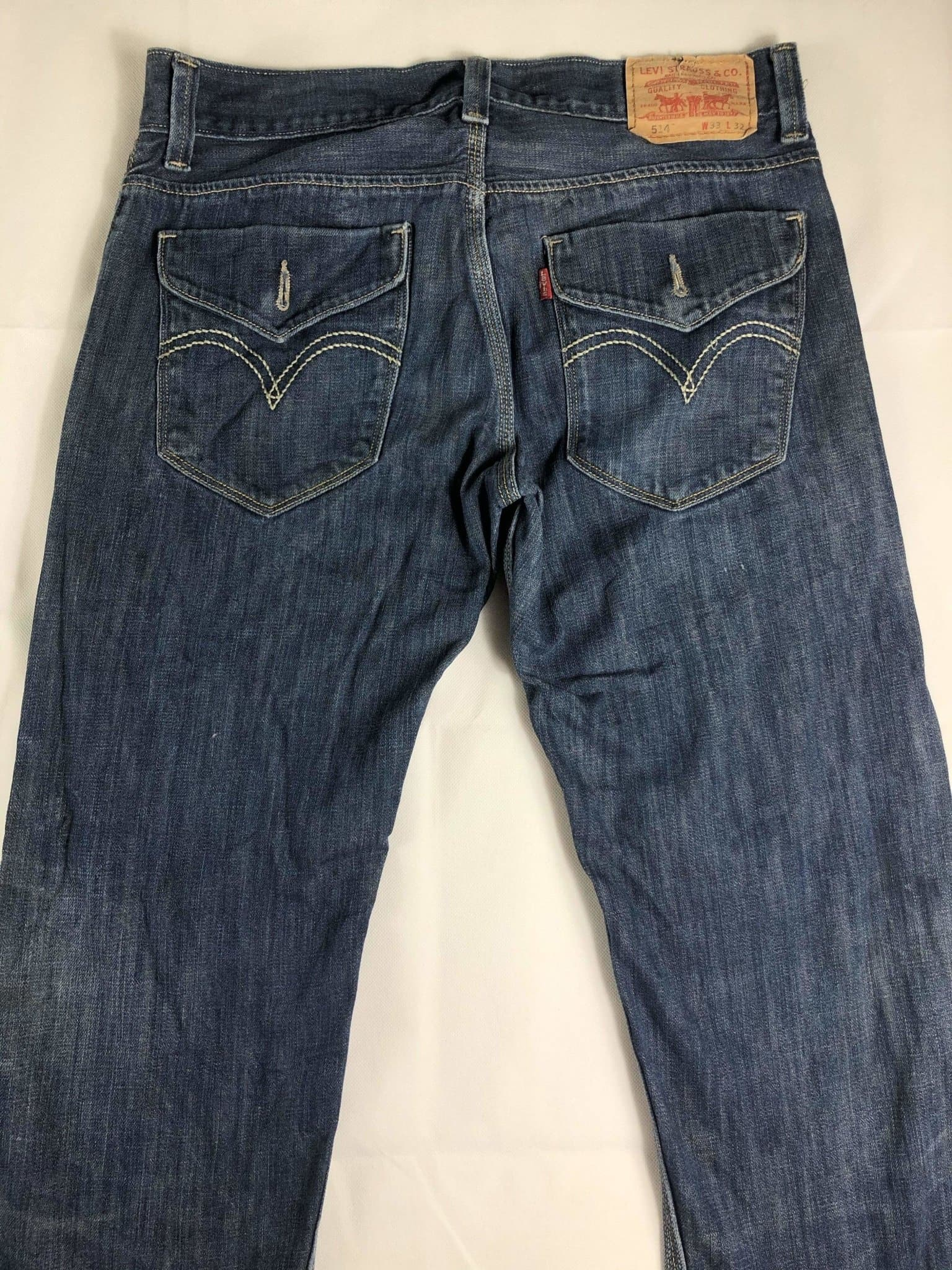 Vintage Levi's 514 Jeans W33 L32 (Z21) - Discounted Deals UK
