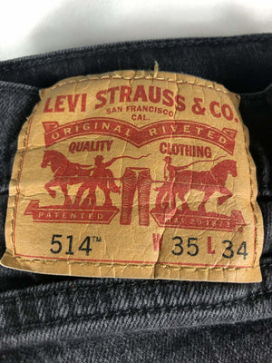Vintage Levi's 514 Jeans W35 L34 (M15) - Discounted Deals UK