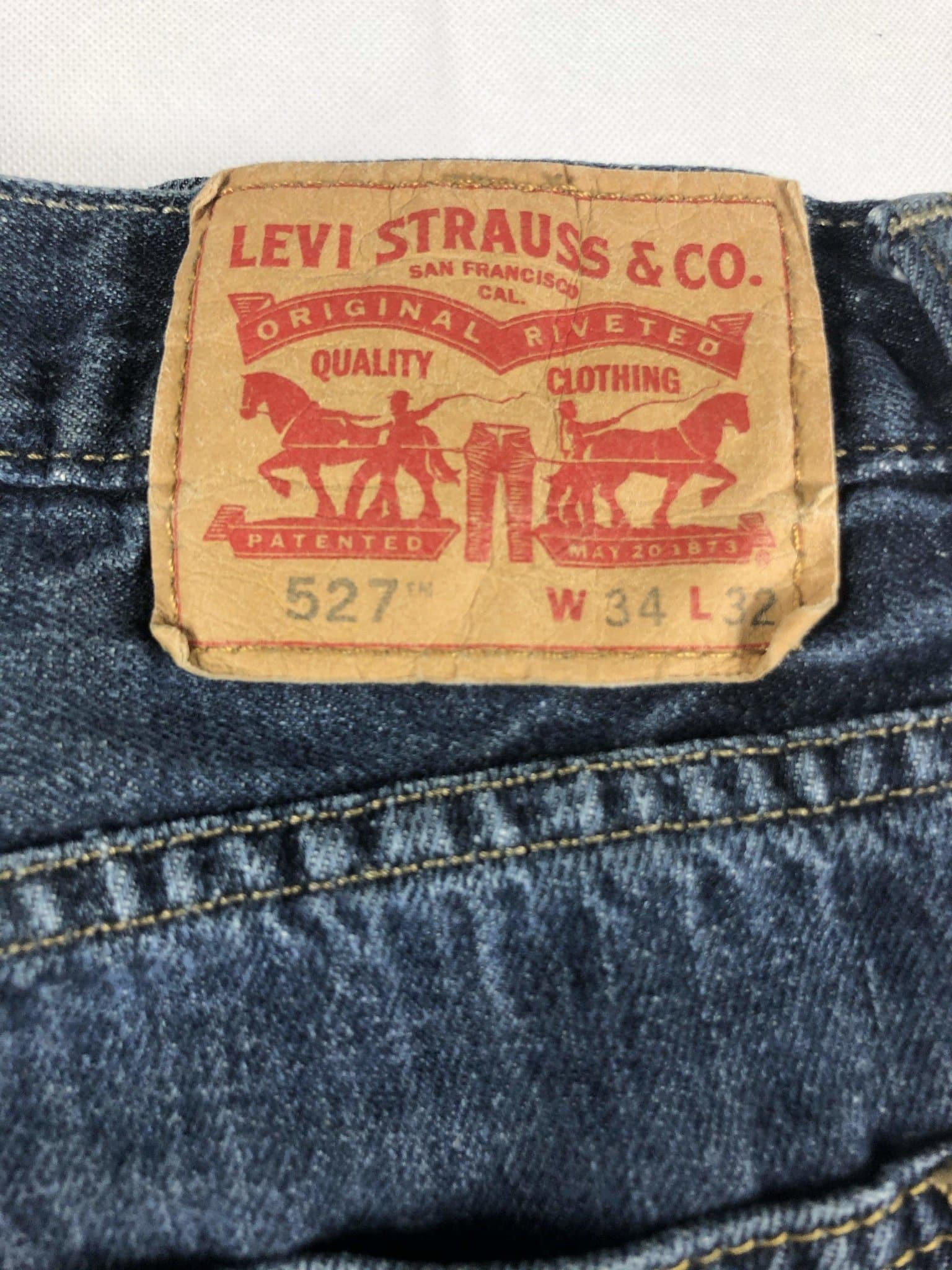 Vintage Levi's 527 Jeans W34 L32 (F1) - Discounted Deals UK