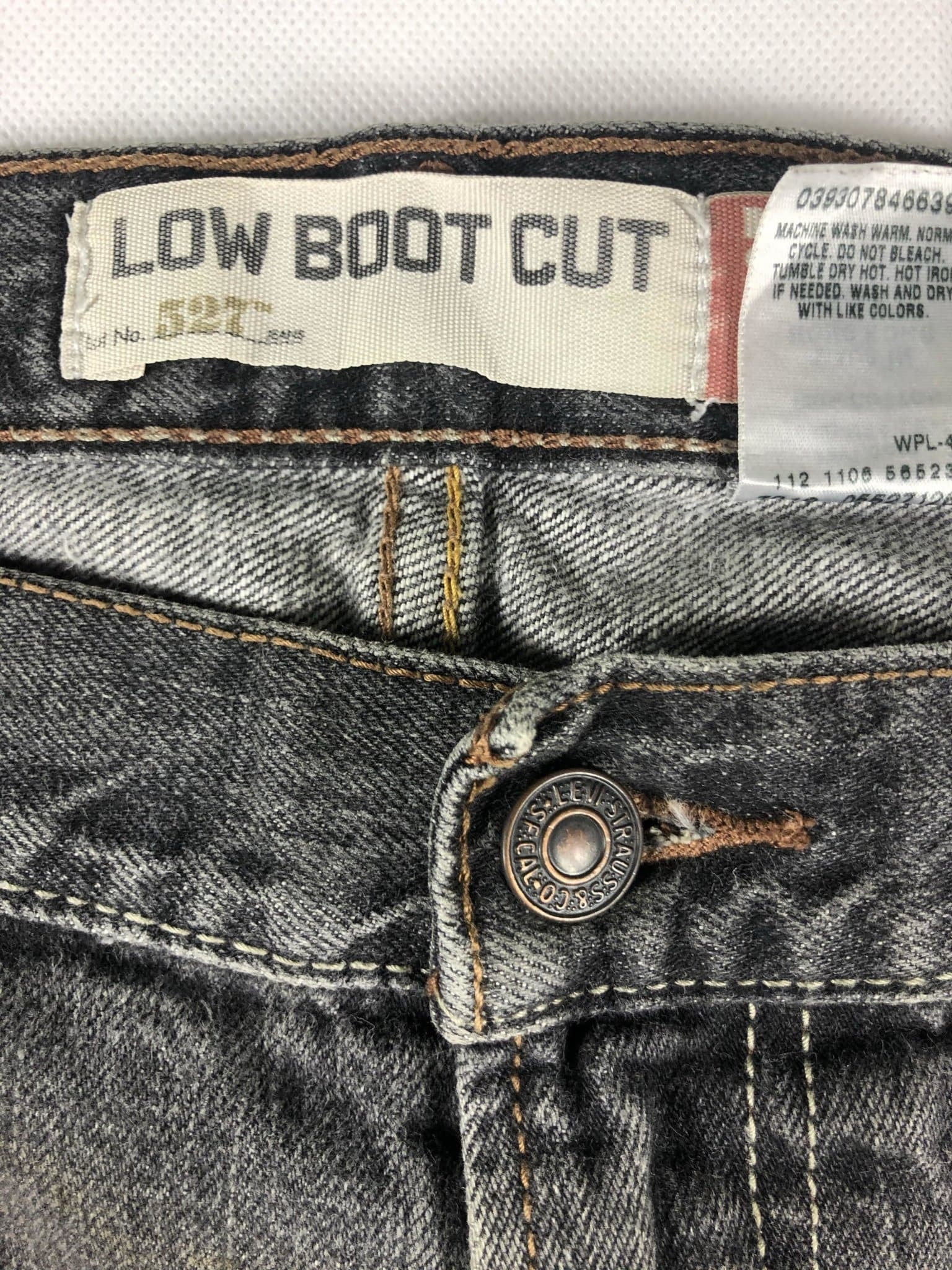 Vintage Levi's 527 Jeans W36 L30 (F1) - Discounted Deals UK