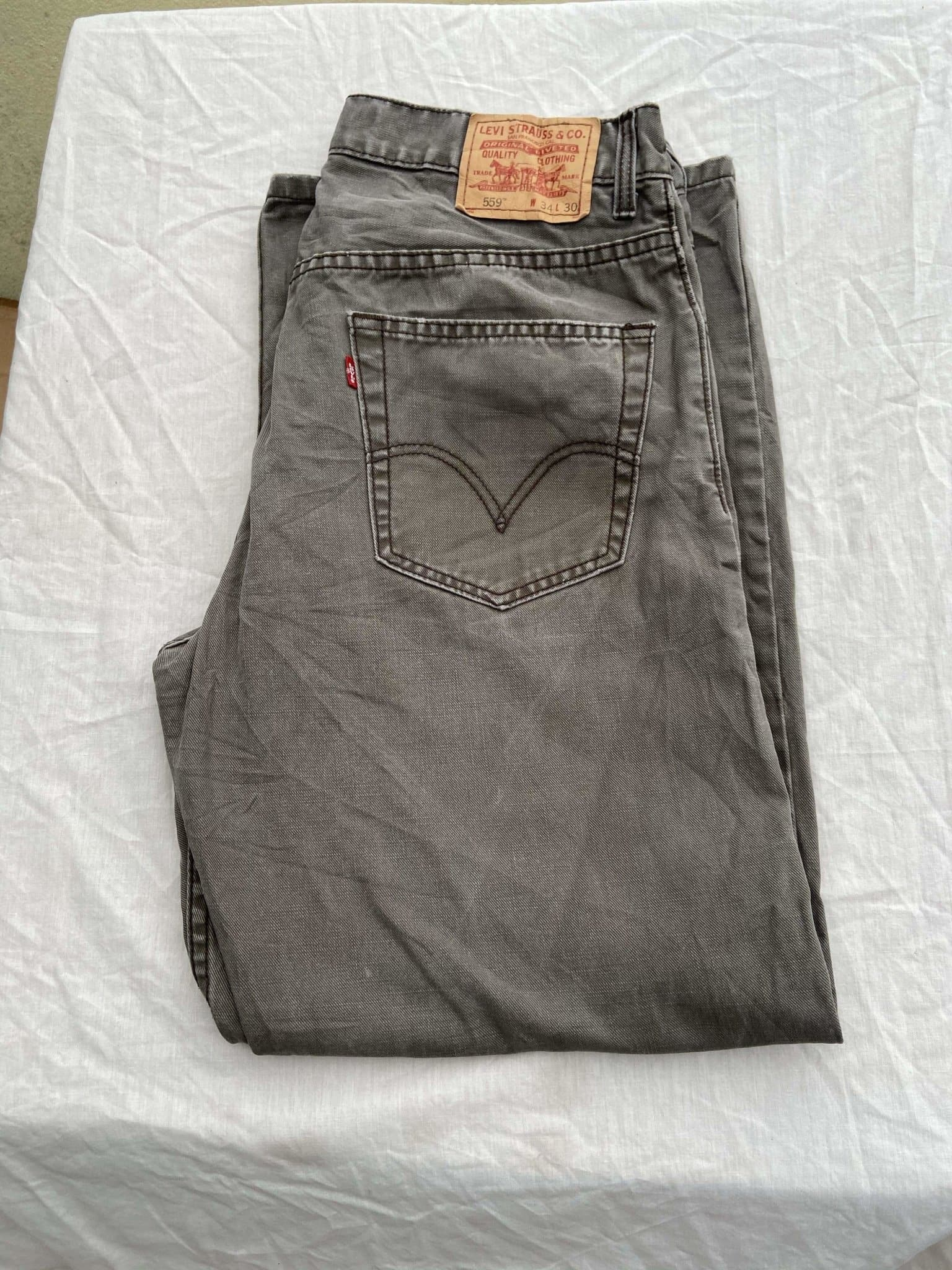 Vintage Levi's 559 Jeans W34 L30 - Discounted Deals UK