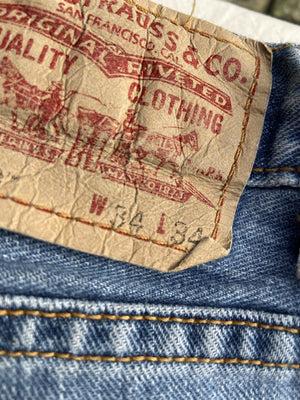 Vintage Levi's 559 Jeans W34 L34 (F2) - Discounted Deals UK