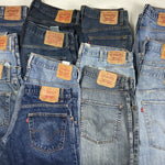 Vintage Levi's Blue Jeans W33 L34 - Discounted Deals UK