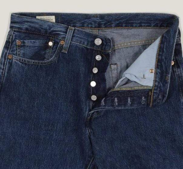 Vintage Levi's Classic 501 Jeans W34 L34 (DHLB3) - Discounted Deals UK