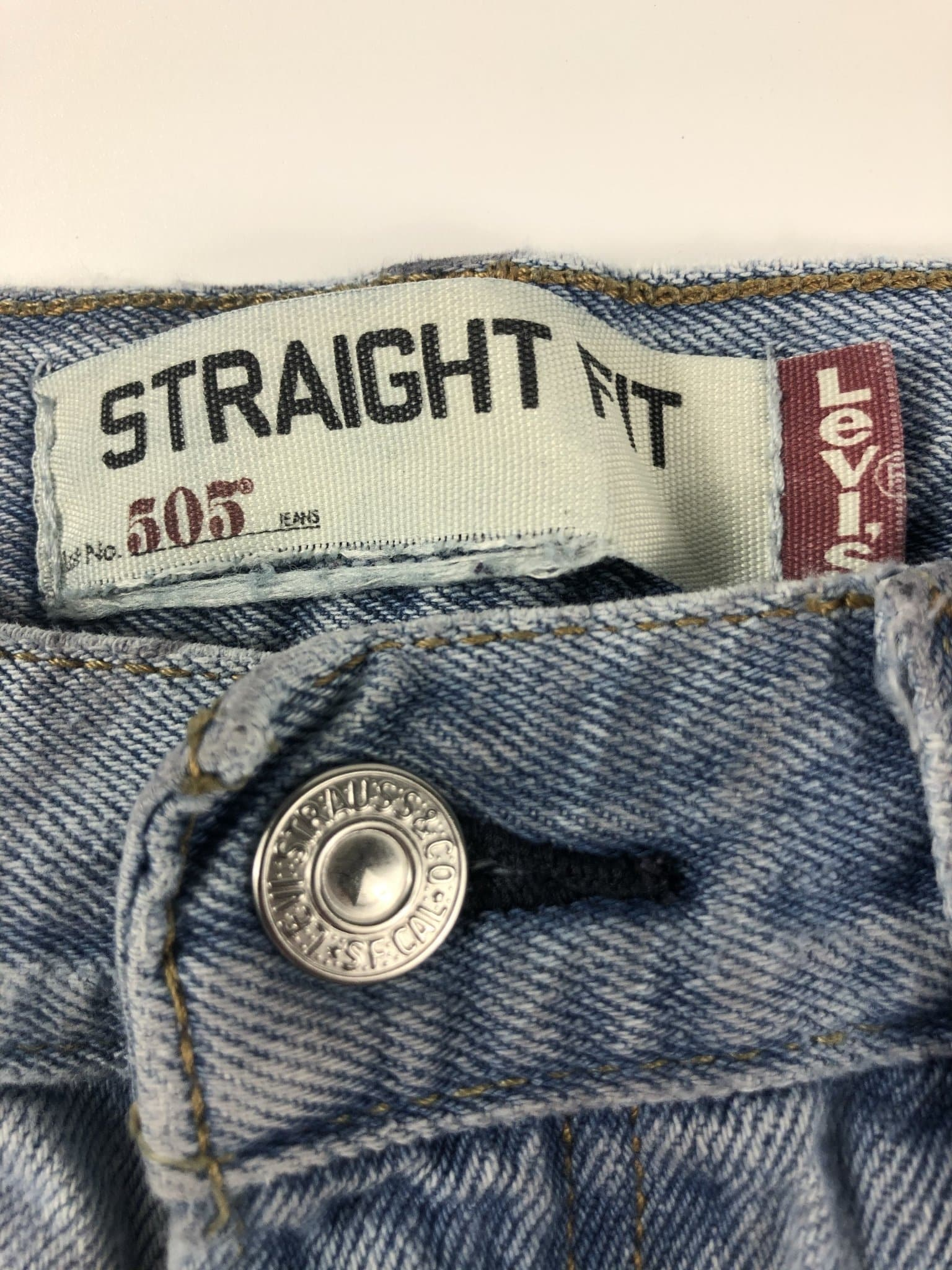 Vintage Levi's Classic 505 Jeans W32 L30 (I11) - Discounted Deals UK