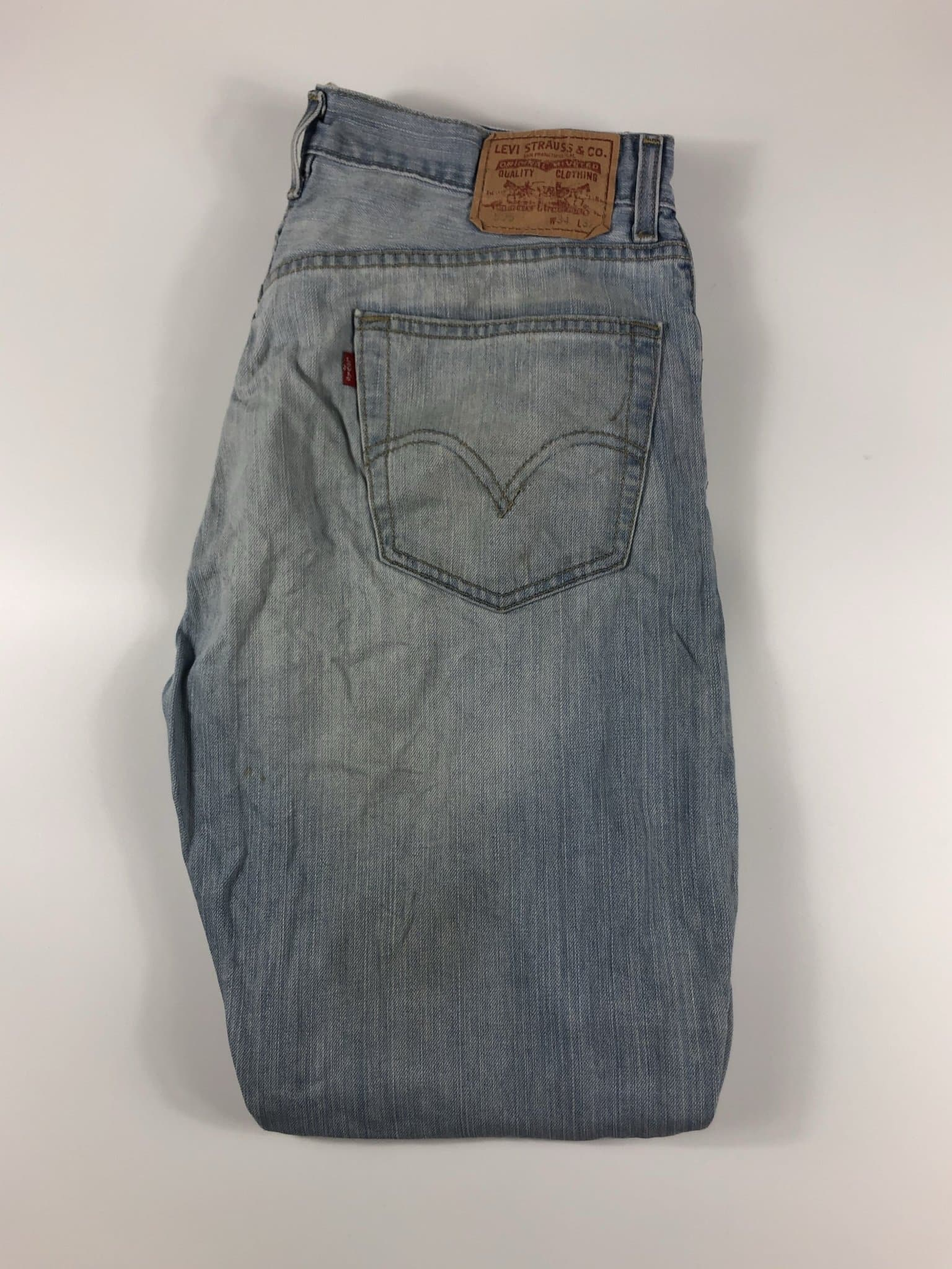 Vintage Levi's Classic 505 Jeans W34 L32 (G91) - Discounted Deals UK