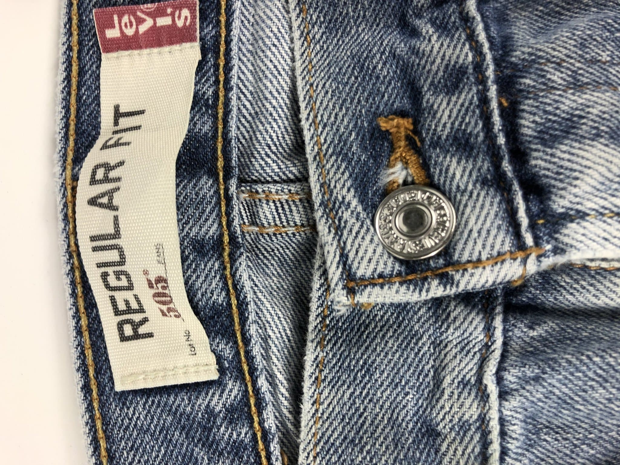 Vintage Levi's Classic 505 Jeans W36 L30 (E5) - Discounted Deals UK