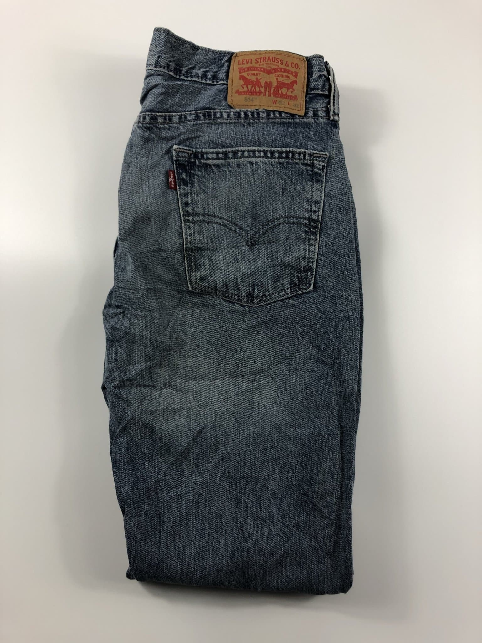 Vintage Levi's Classic 514 Jeans W32 L32 (K5) - Discounted Deals UK