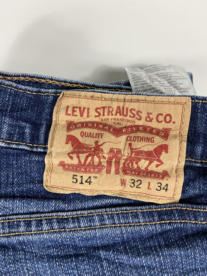 Vintage Levi's Classic 514 Jeans W32 L34 (QZ1) - Discounted Deals UK
