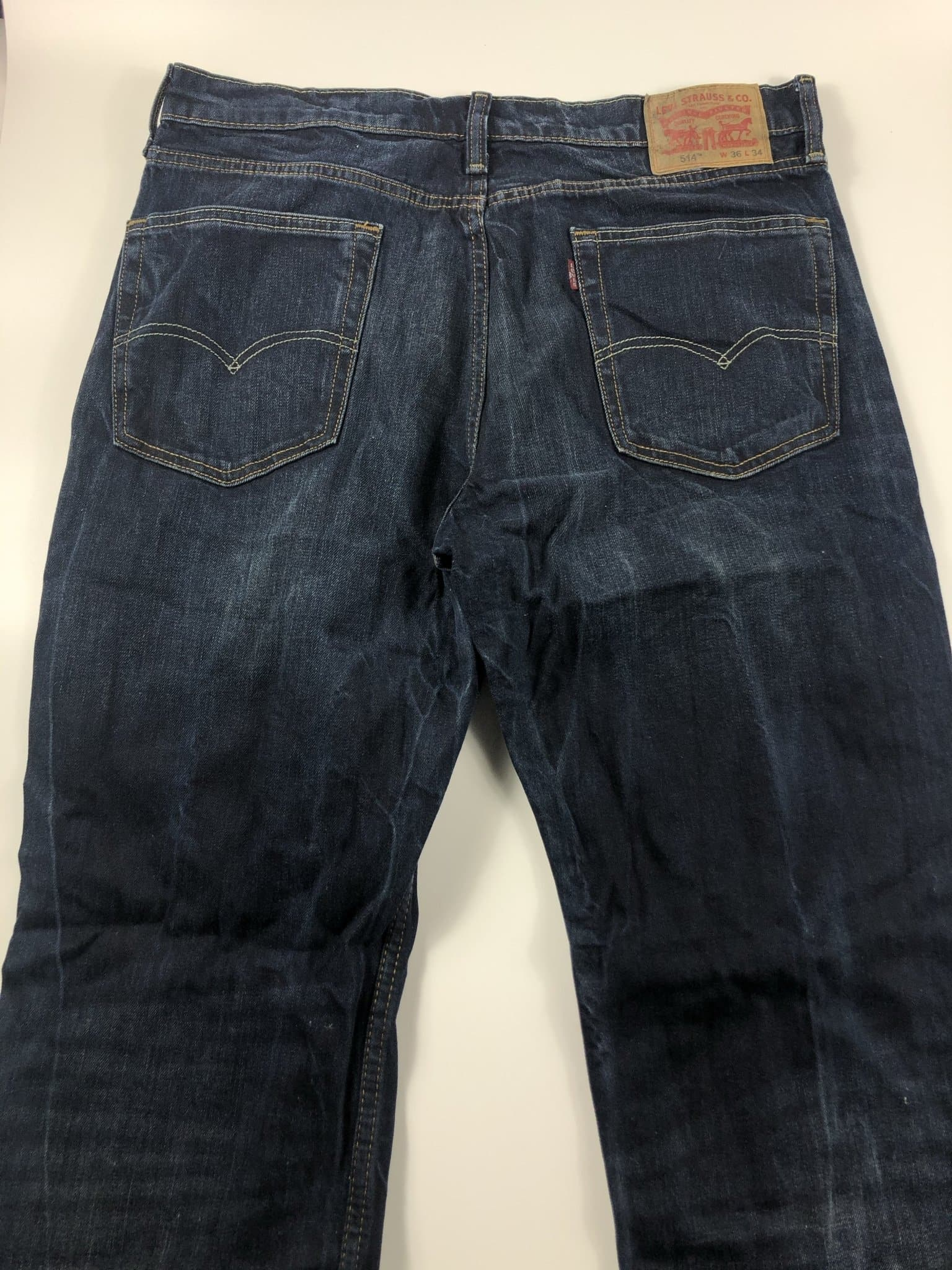 Vintage Levi's Classic 514 Jeans W36 L34 (I11) - Discounted Deals UK