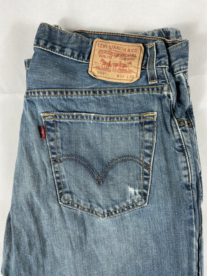 Vintage Levi's Classic 559 Jeans W36 L30 (G54) - Discounted Deals UK