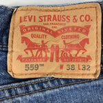 Vintage Levi's Classic 559 Jeans W38 L32 (T15) - Discounted Deals UK