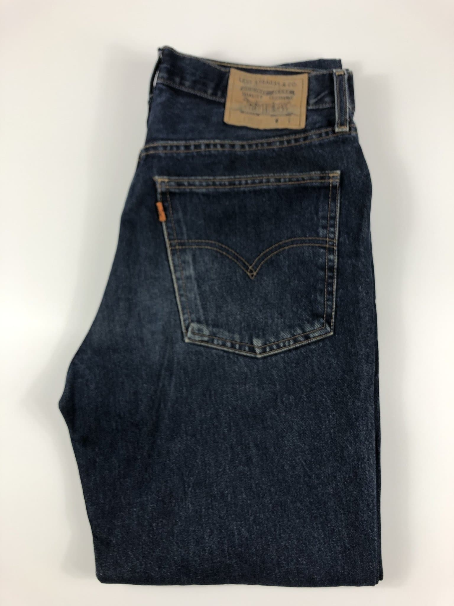 Vintage Levi's Classic 630 Jeans W34 L34 (E5) - Discounted Deals UK