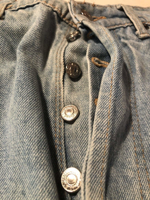 Vintage Levi's Original 501 Jeans W36 L44 (M15) - Discounted Deals UK
