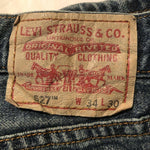 Vintage Levi's Original 527 Jeans W34 L30 (G17) - Discounted Deals UK