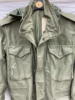 Vintage NATO M-65 Field Jacket - Size Small  (W2) - Discounted Deals UK