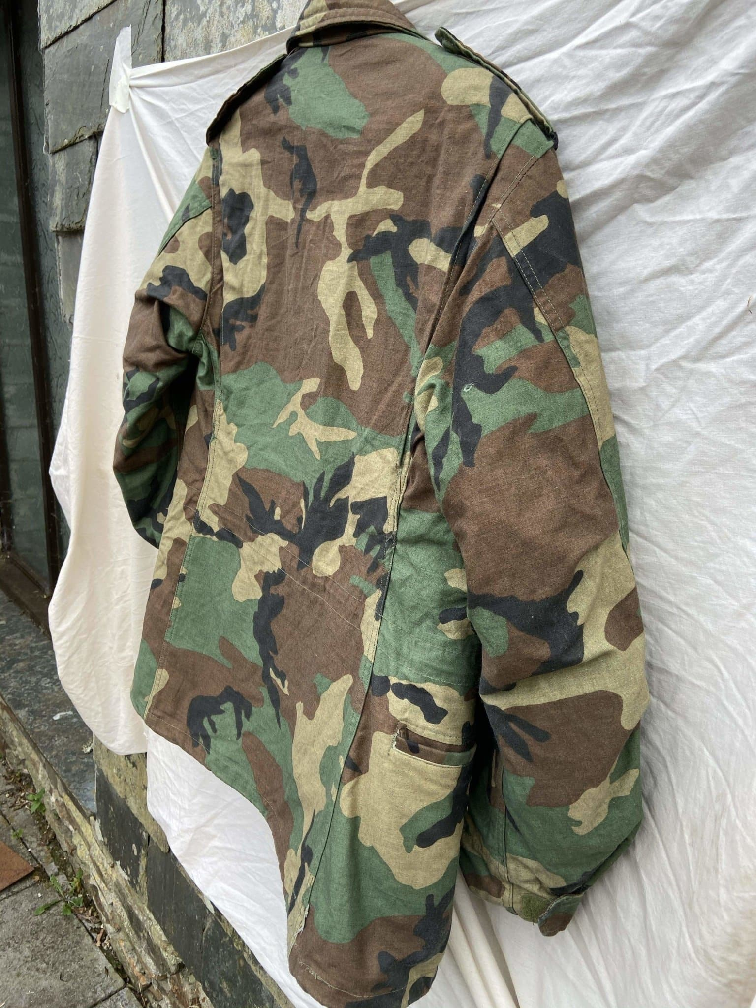 Vintage NATO M-65 Field Jacket (With Liner) - Size Medium - Discounted Deals UK