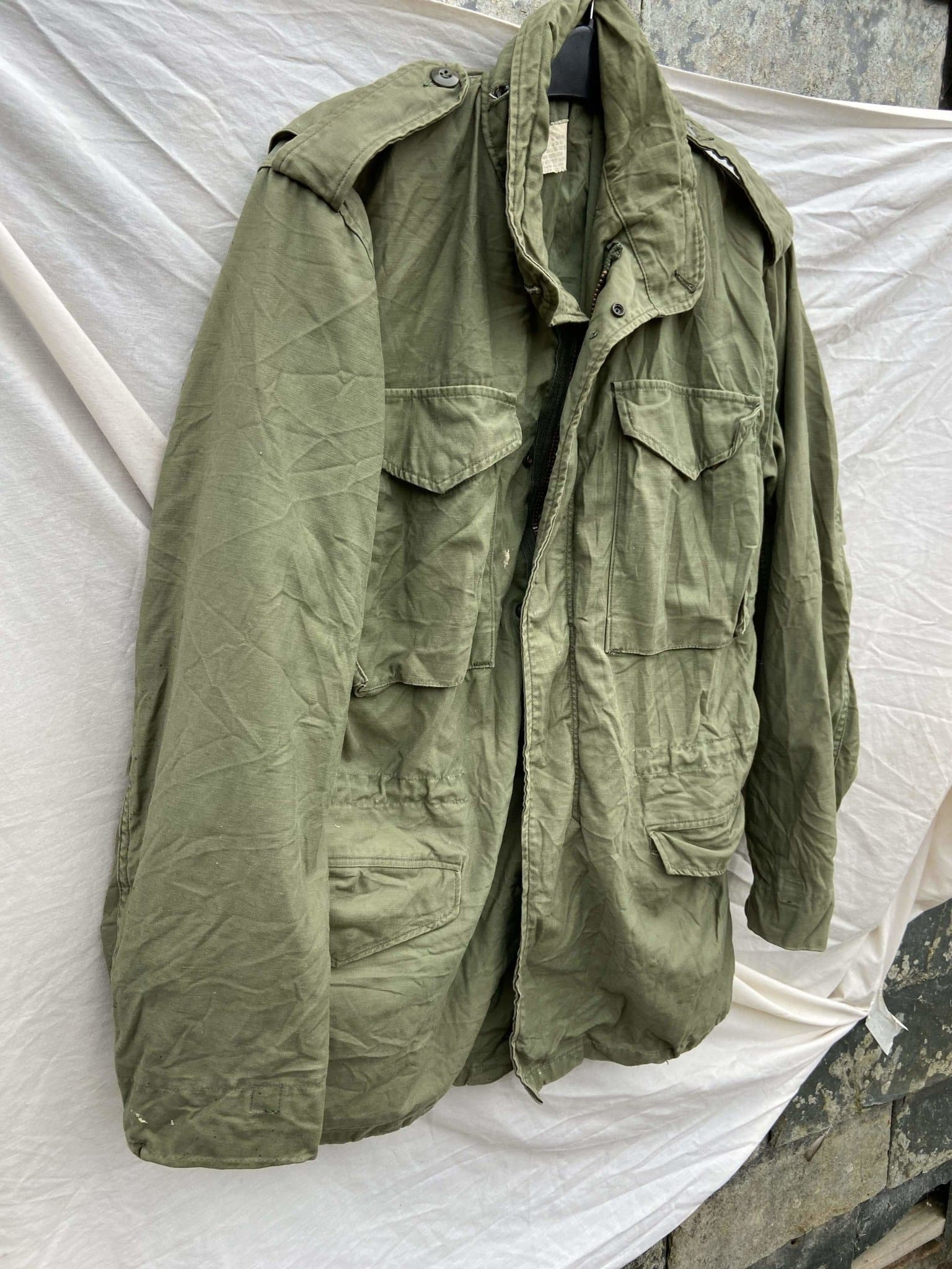 Vintage NATO M-65 US ARMY Field Jacket - Size Small - Discounted Deals UK