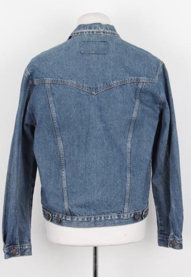 Vintage Wrangler Denim Trucker Jacket For Women - Small - Discounted Deals UK