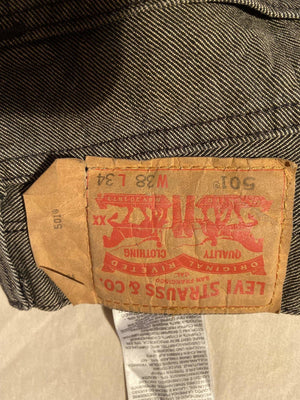 Worn Levi's Original 501 Regular Fit Jeans W38 L34 (DF5) - Discounted Deals UK