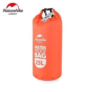 Survival Jungle Tasche 25L Orange Ultraleichter wasserdichter Camping Beutel