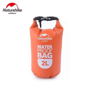 Survival Jungle Tasche 2L Orange Ultraleichter wasserdichter Camping Beutel